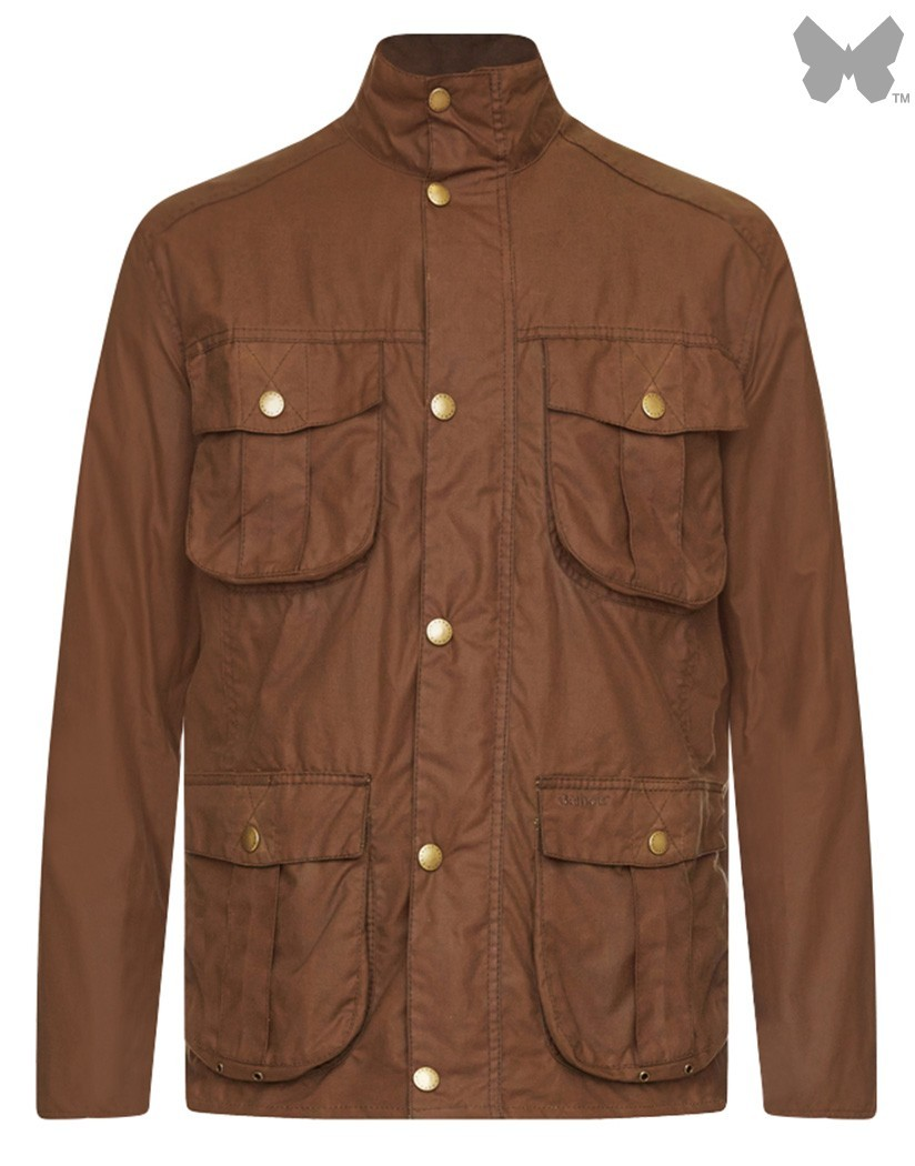 Barbour Bark New Utility Wax Jacket
