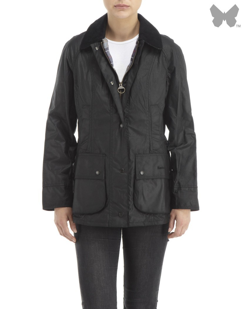 Barbour Black Beadnell Jacket