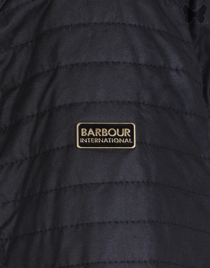 Barbour Black Bearing Wax Jacket
