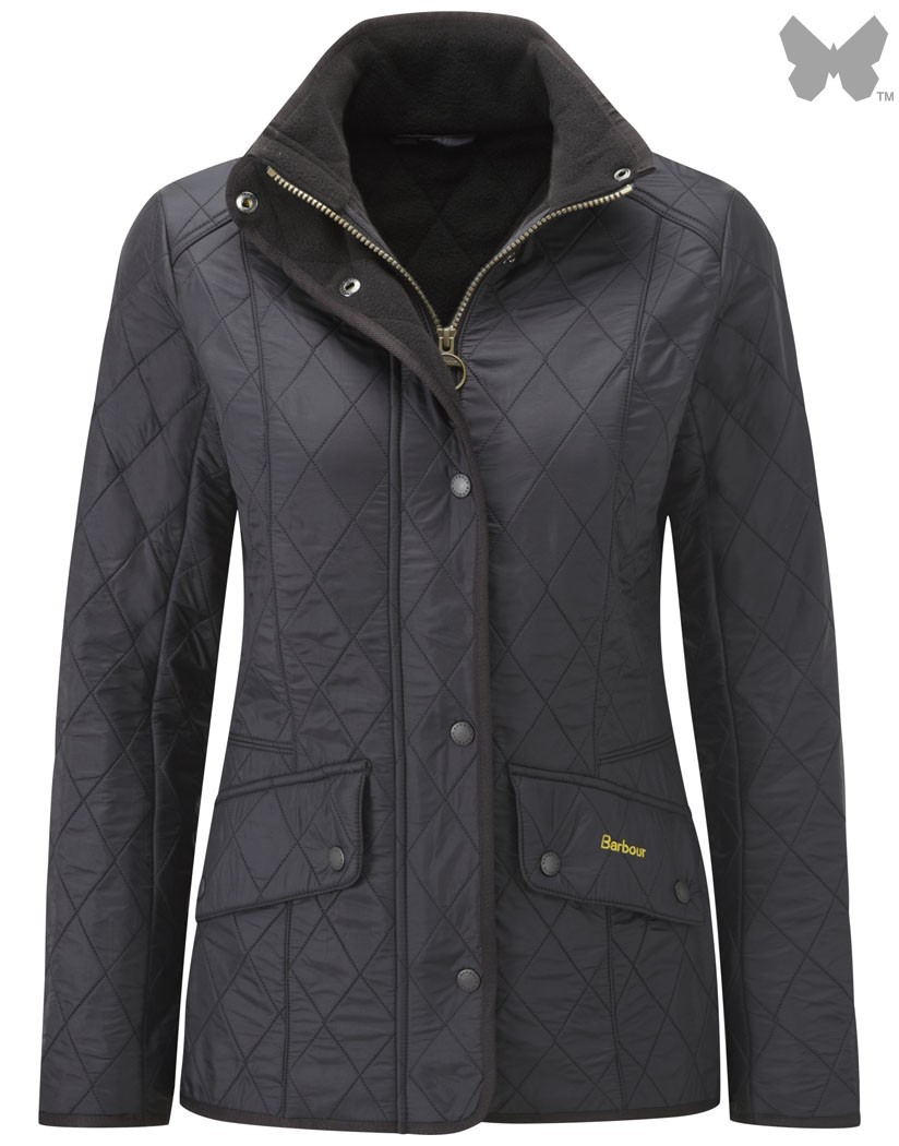 Barbour Black Cavalry Polarquilt Jacket
