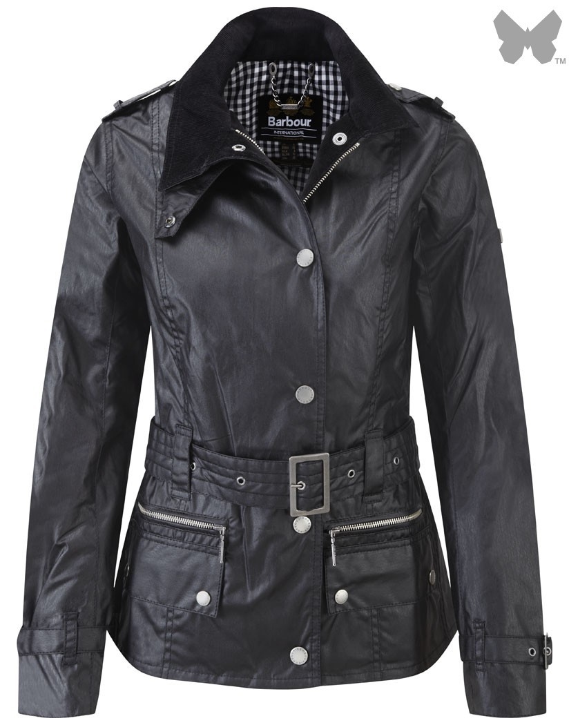 Barbour Black Heath Jacket