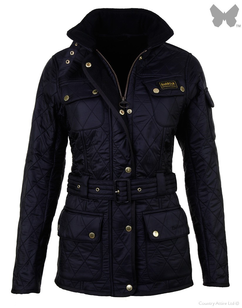 Barbour Black International Polarquilt Jacket
