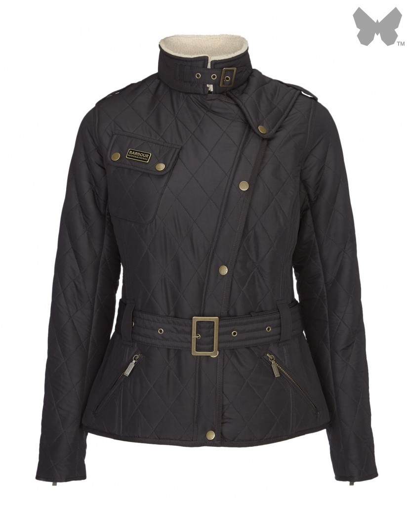 Barbour Black Matlock International Quilted Jacket
