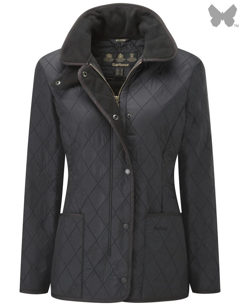 Barbour Black Polarquilt Jacket