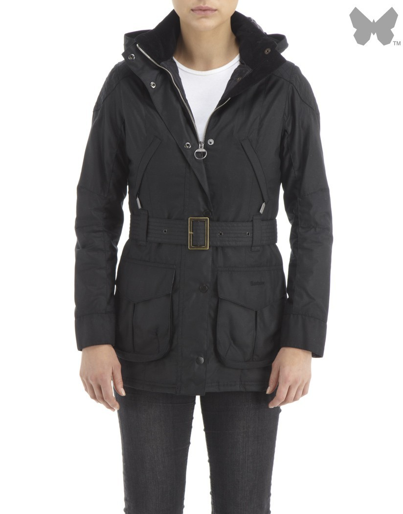 Barbour Black Rebel Jacket