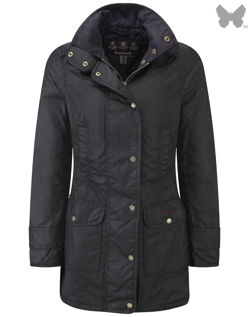 Barbour Black Squire Jacket