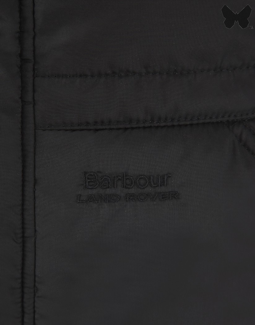 Barbour Black Allery Quilted Jacket