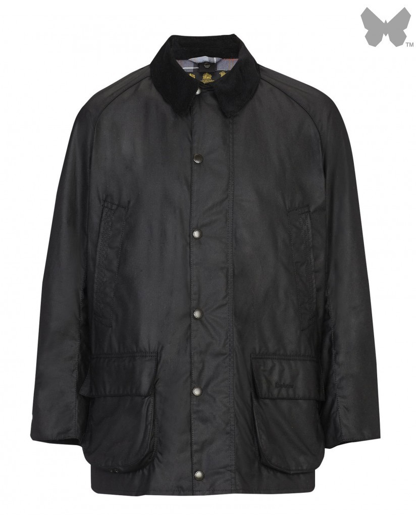 Barbour Black Bristol Wax Jacket