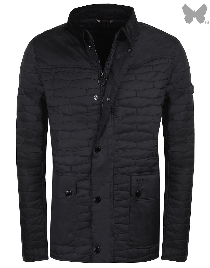 Barbour Black Chesterdon Quilted Jacket