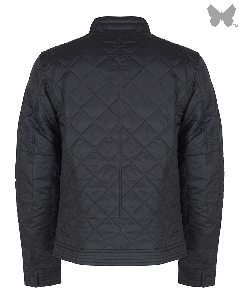 Barbour Black Coolant Quilted Jacket