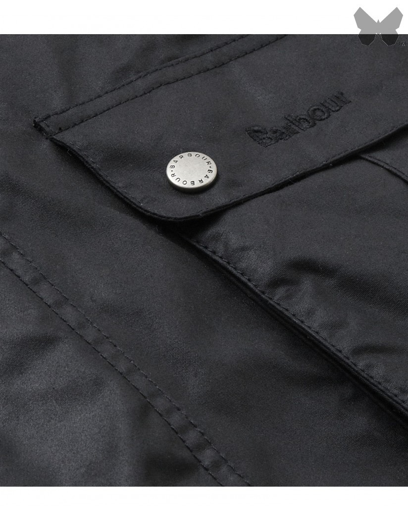 Barbour Black Duke International Wax Jacket