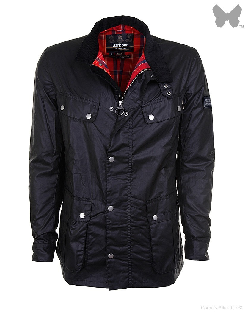 Barbour Black Enfield Jacket