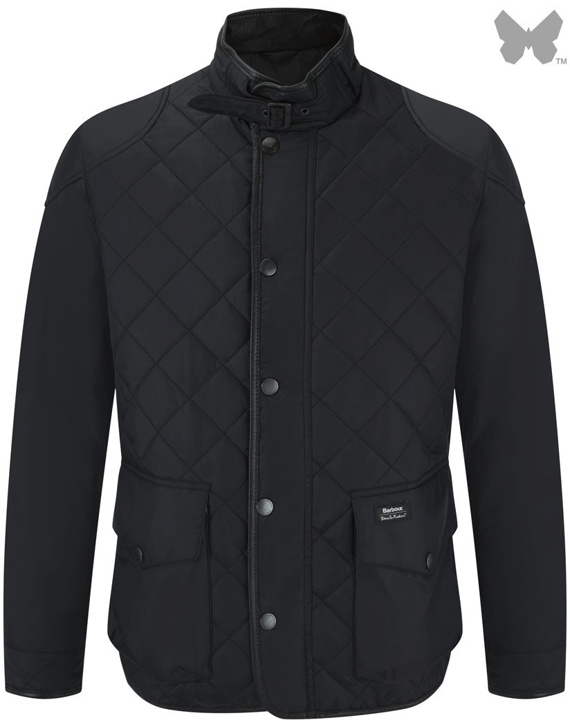 Barbour Black Euripides Quilted Jacket