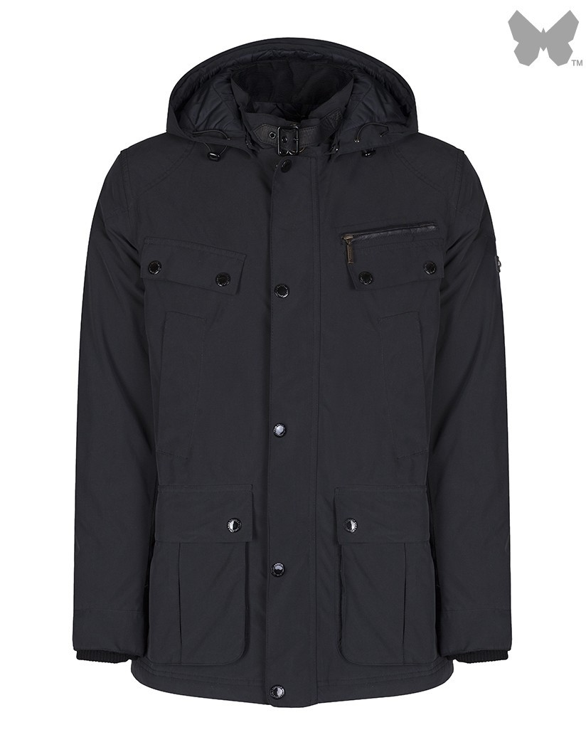 Barbour Black Lockhill Jacket