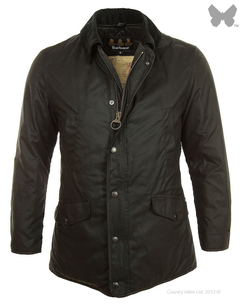 Barbour Black Martindale Wax Jacket