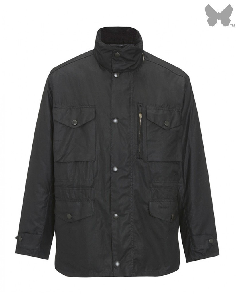 Barbour Black Sapper Jacket