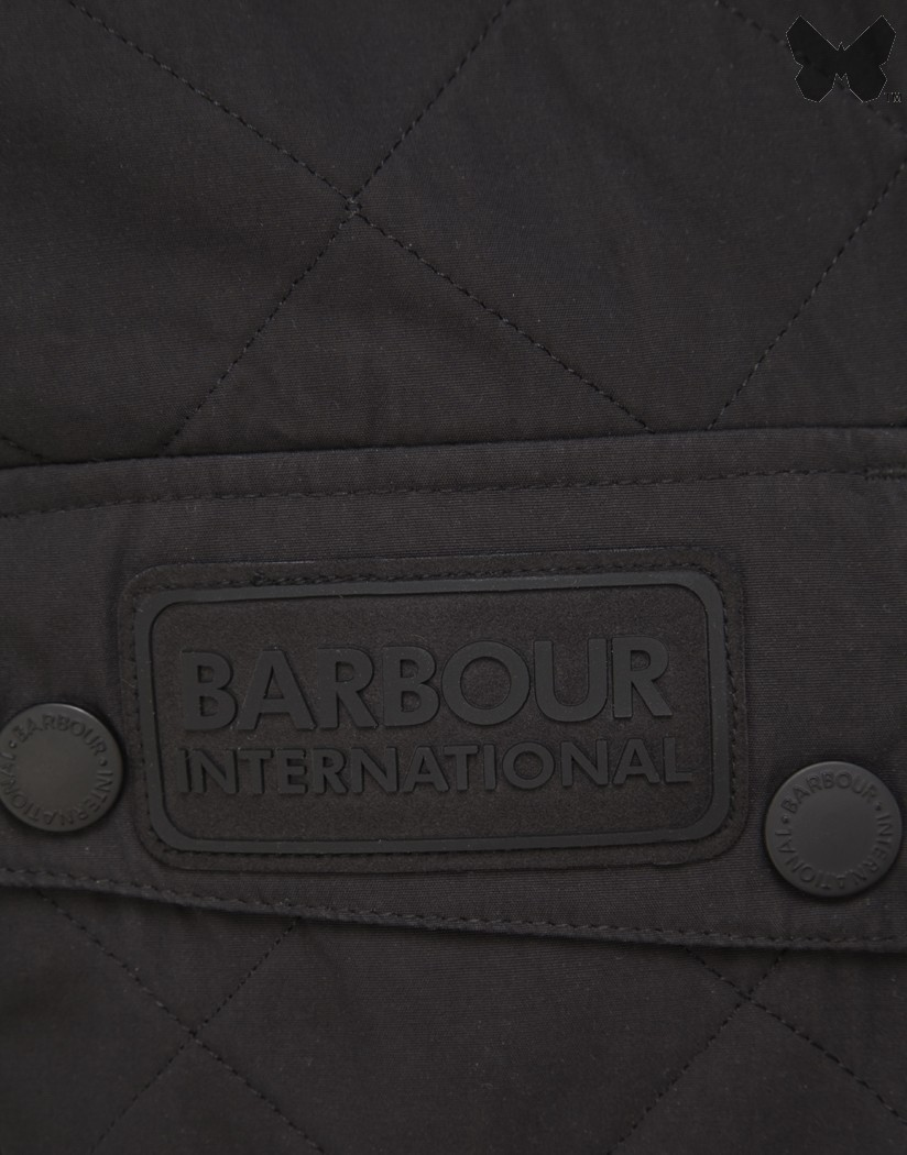 Barbour Black Sheene Jacket