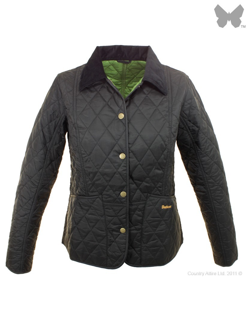 Barbour Black Turf Summer Liddesdale Jacket
