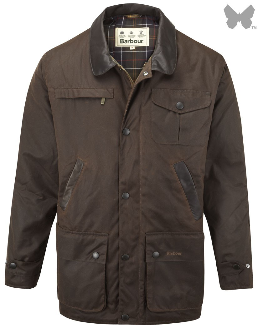 Barbour Brown New Bushman Jacket