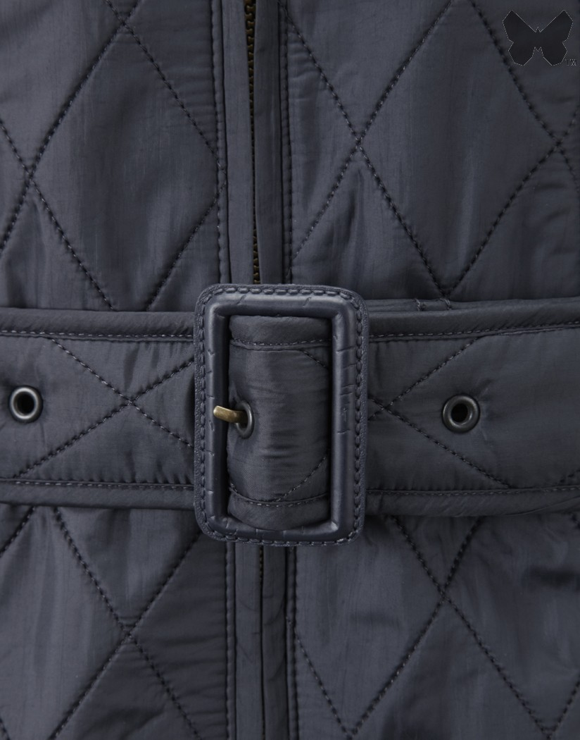 Barbour Dark Navy Grace Polarquilt Jacket