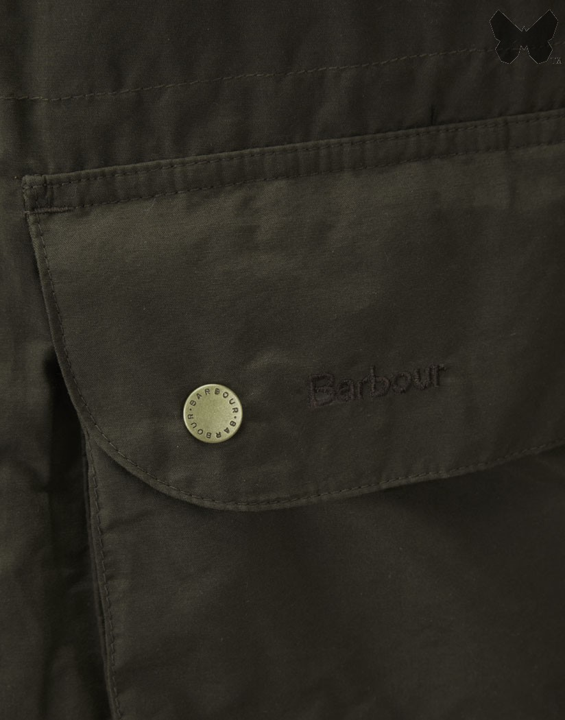 Barbour Dark Olive Stratus Jacket