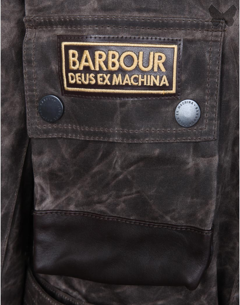 Barbour Hickory Hurstville Wax Jacket