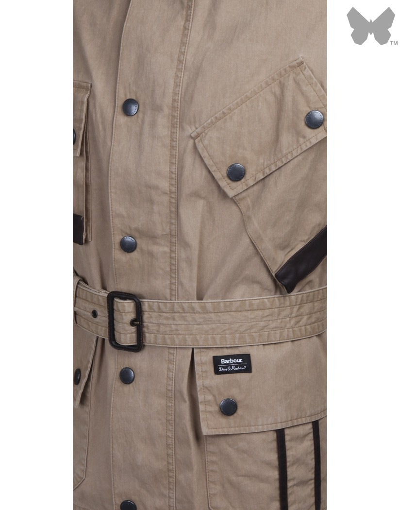 Barbour Military Brown Geelong Jacket
