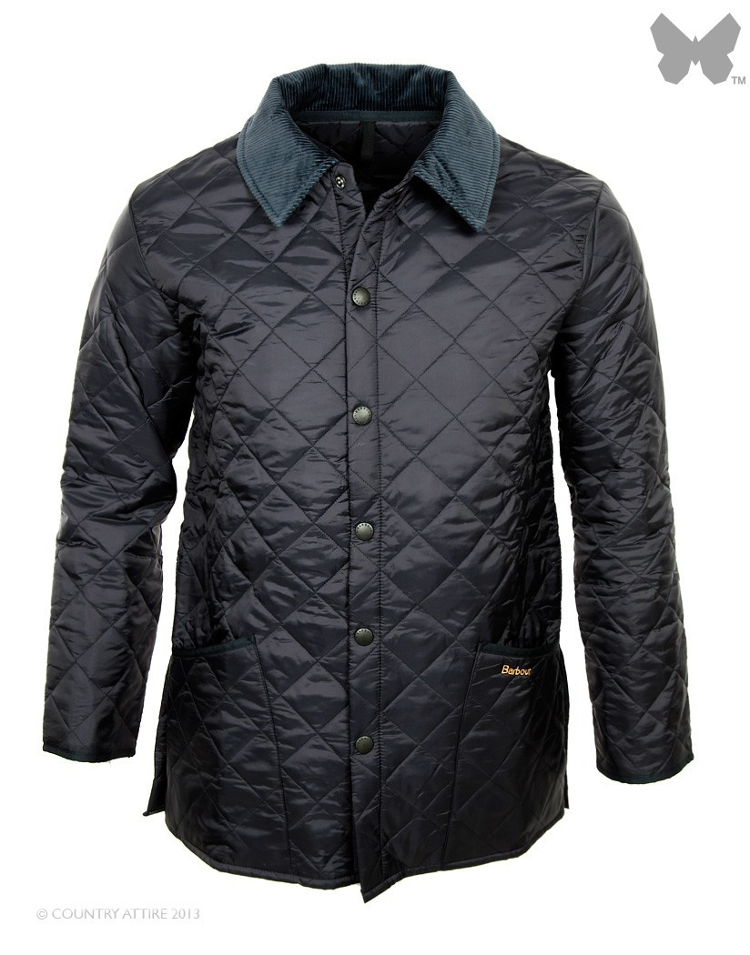 Barbour Navy Blue Liddesdale Jacket