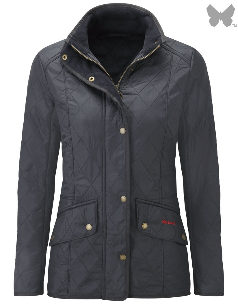 Barbour Navy Cavalry Polarquilt Jacket