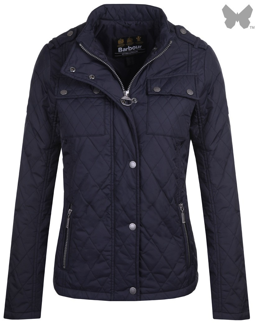 Barbour Navy Dera Gairlochy Quilted Jacket