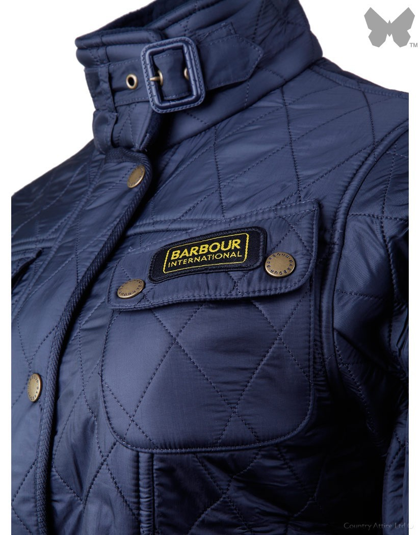 Barbour Navy International Polarquilt Jacket