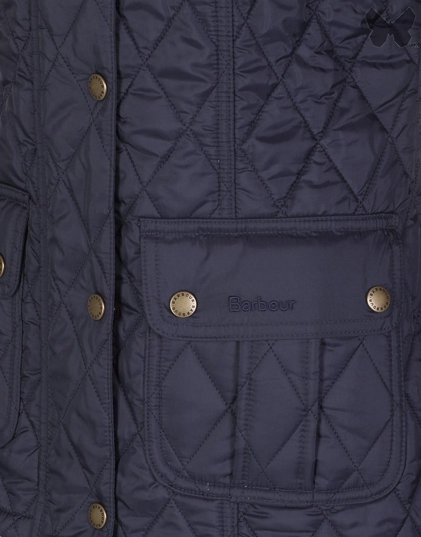 Barbour Navy Ruskin Quilted Jacket