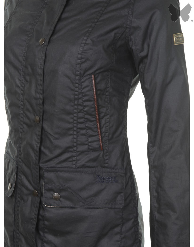 Barbour Navy Staward Wax Jacket