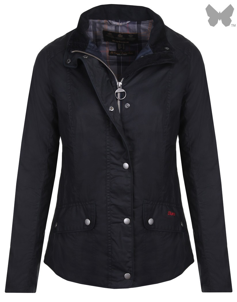 Barbour Navy Wax Ferndown Wax Jacket