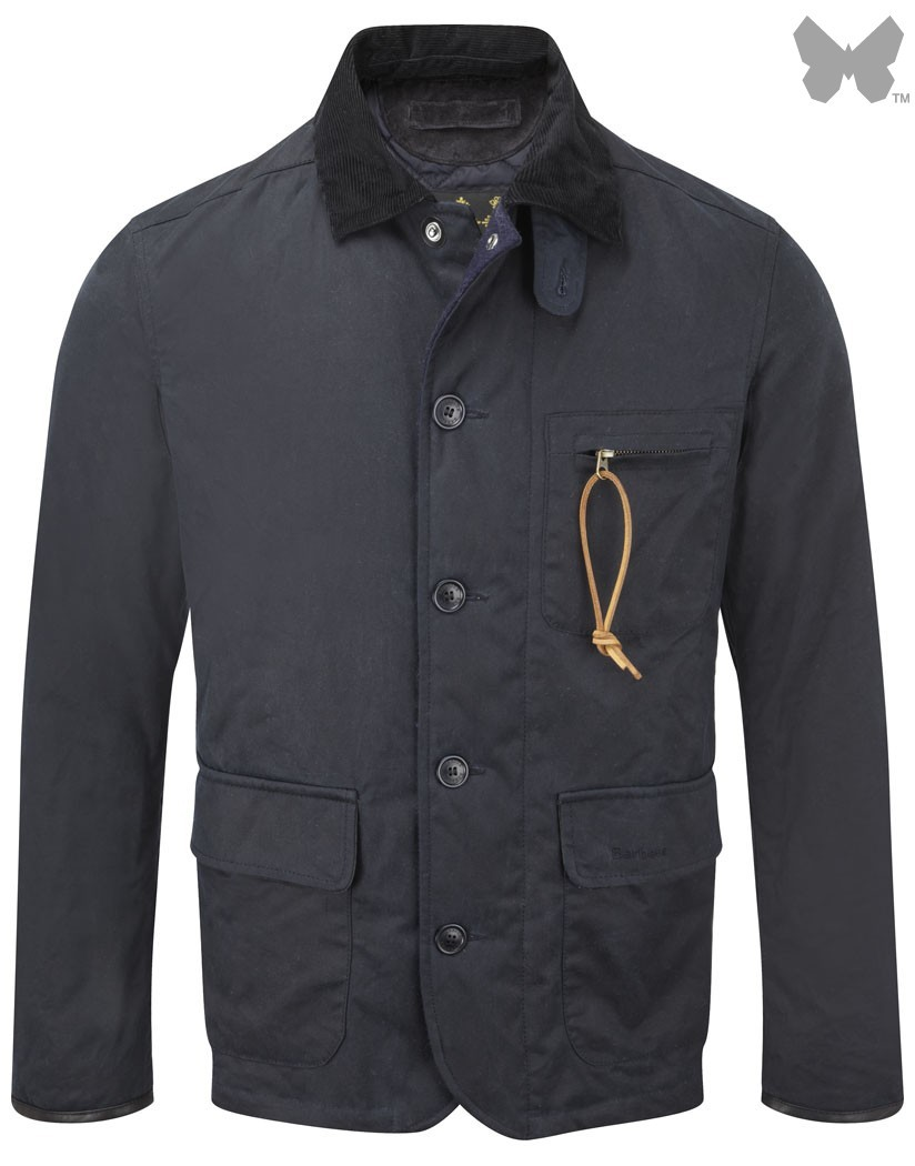 Barbour Navy Apsley Jacket