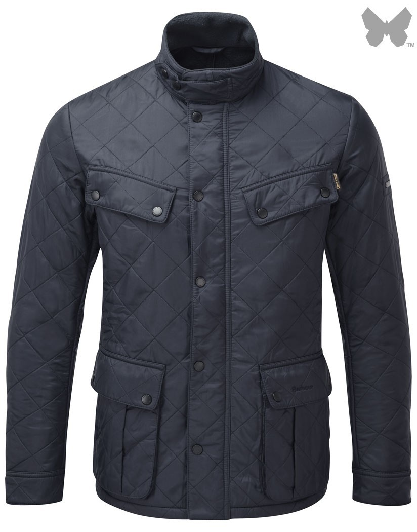 Barbour Navy Ariel Polarquilt Jacket