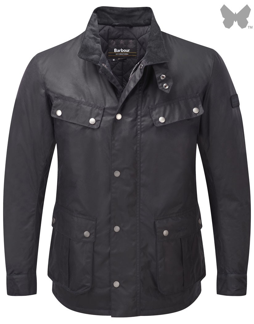 Barbour Navy Duke Jacket