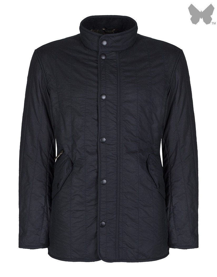 Barbour Navy Edderton Wax Jacket