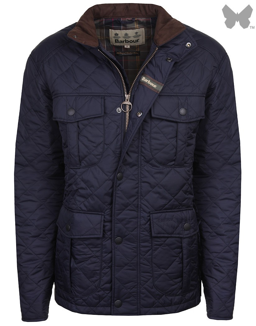 Barbour Navy Explorer Quilted Jacket