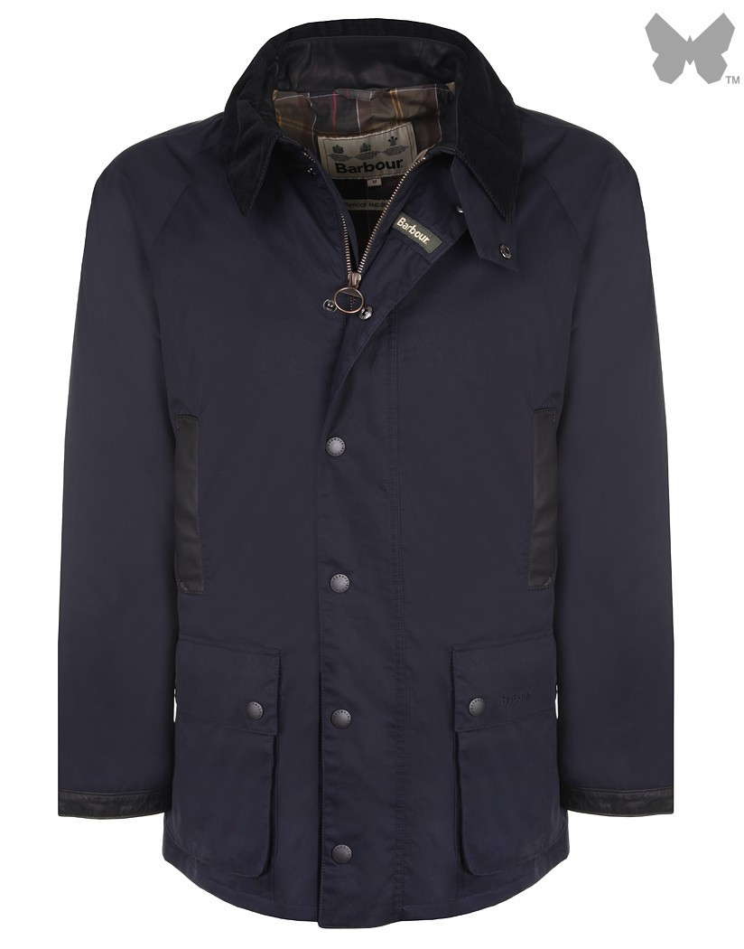 Barbour Navy Lightweight Waterproof Gamefair Jacket