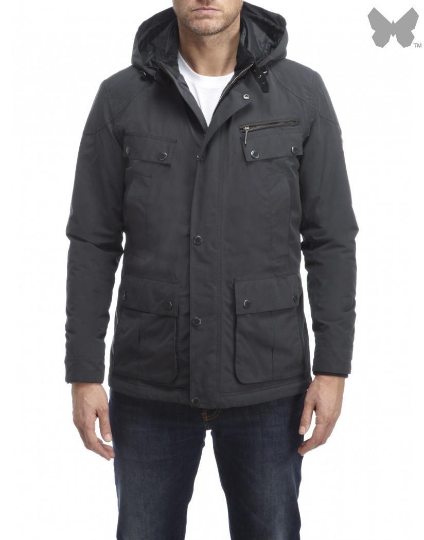 Barbour Navy Lockhill Jacket