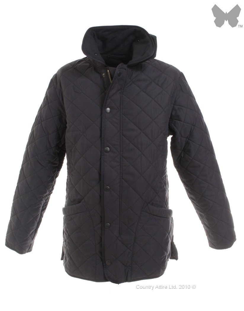 Barbour Navy Microfibre Polarquilt Jacket