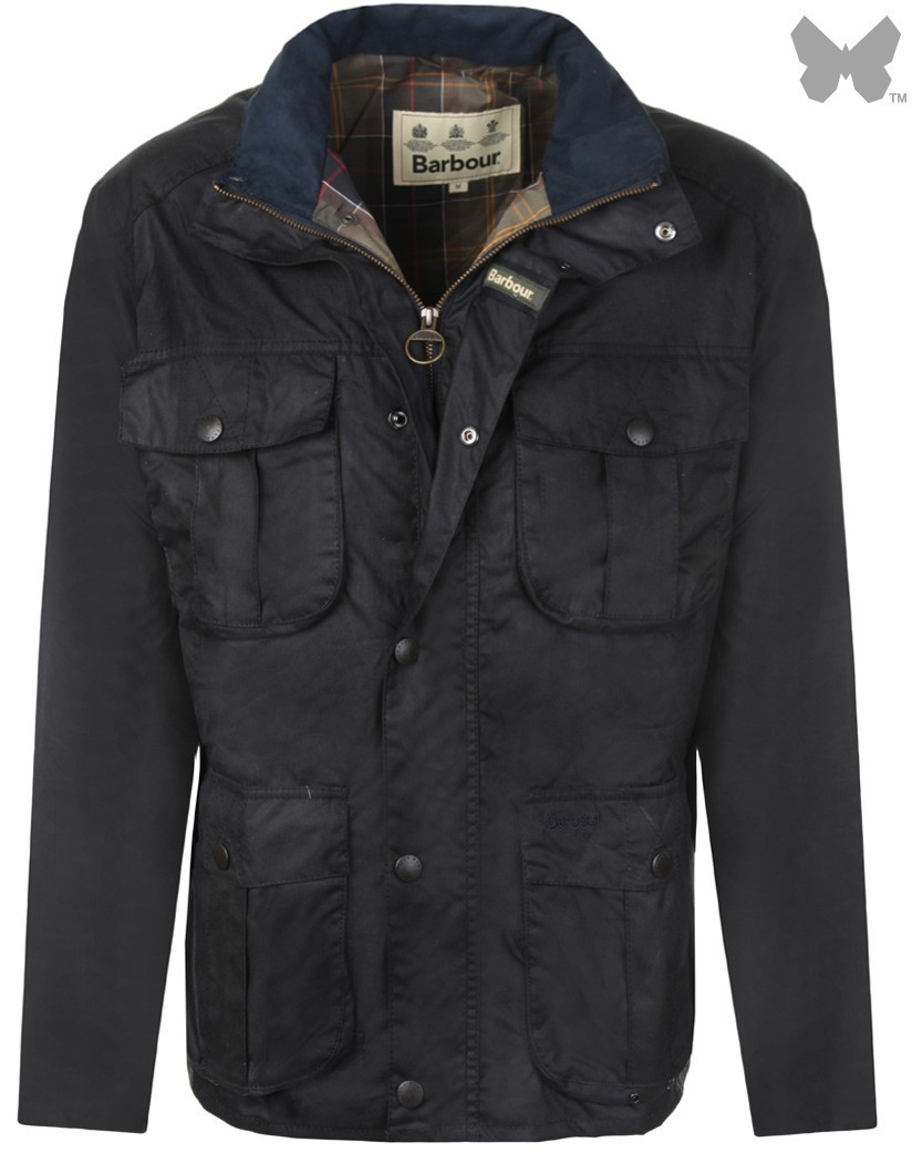 Barbour Navy New Utility Wax Jacket