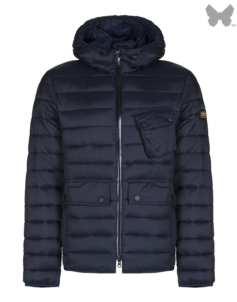 Barbour Navy Ouston Quilted Jacket