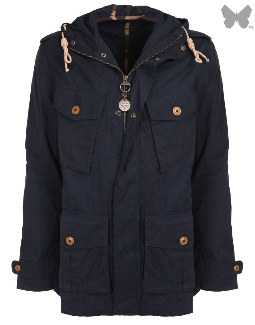 Barbour Navy Ranger Casual Jacket
