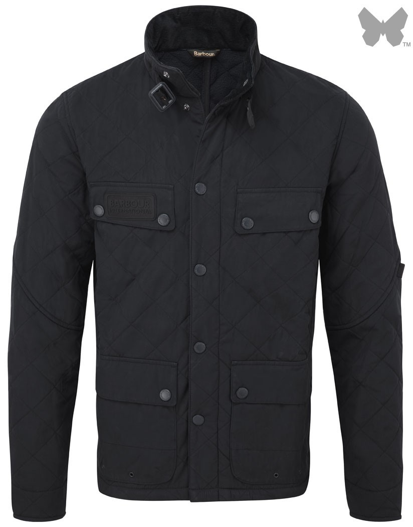 Barbour Navy Sheene Jacket