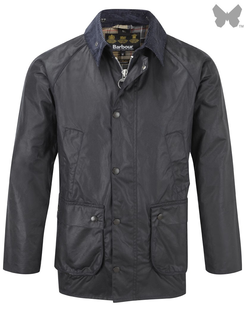 Barbour Navy SL Bedale Jacket