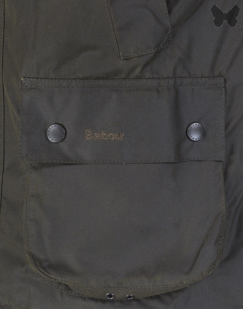 Barbour Olive Classic Bedale Wax Jacket