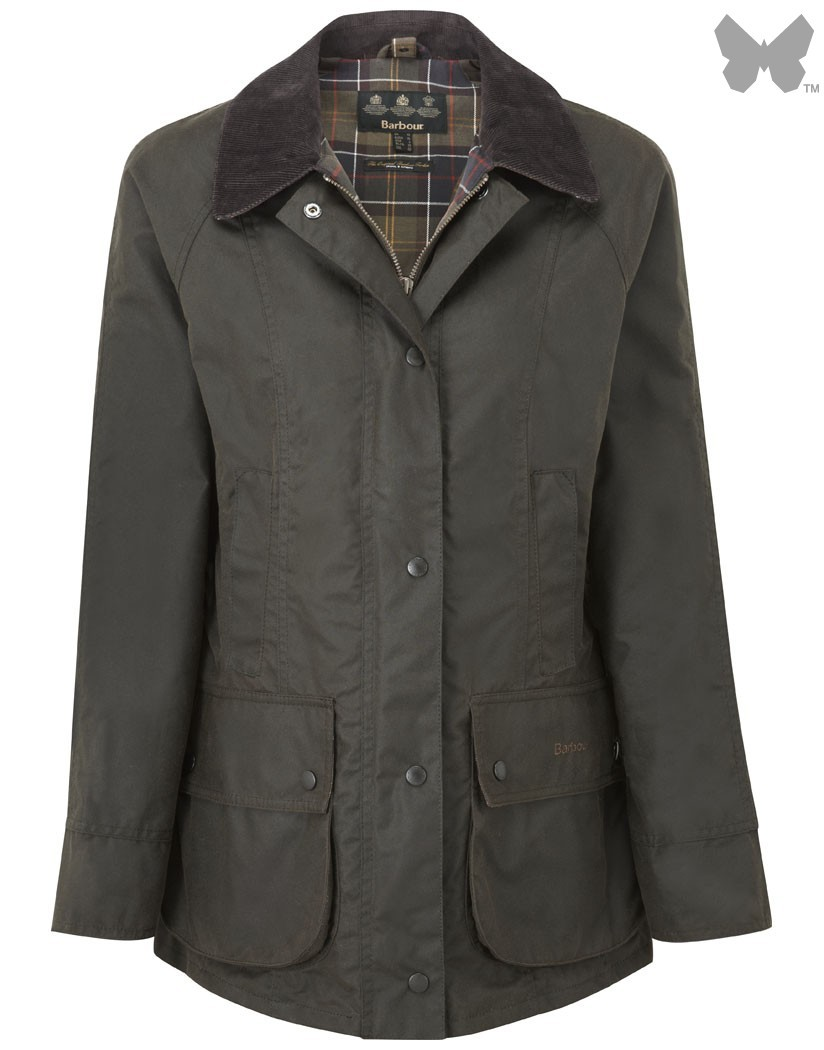 Barbour Olive Classic Beadnell Jacket