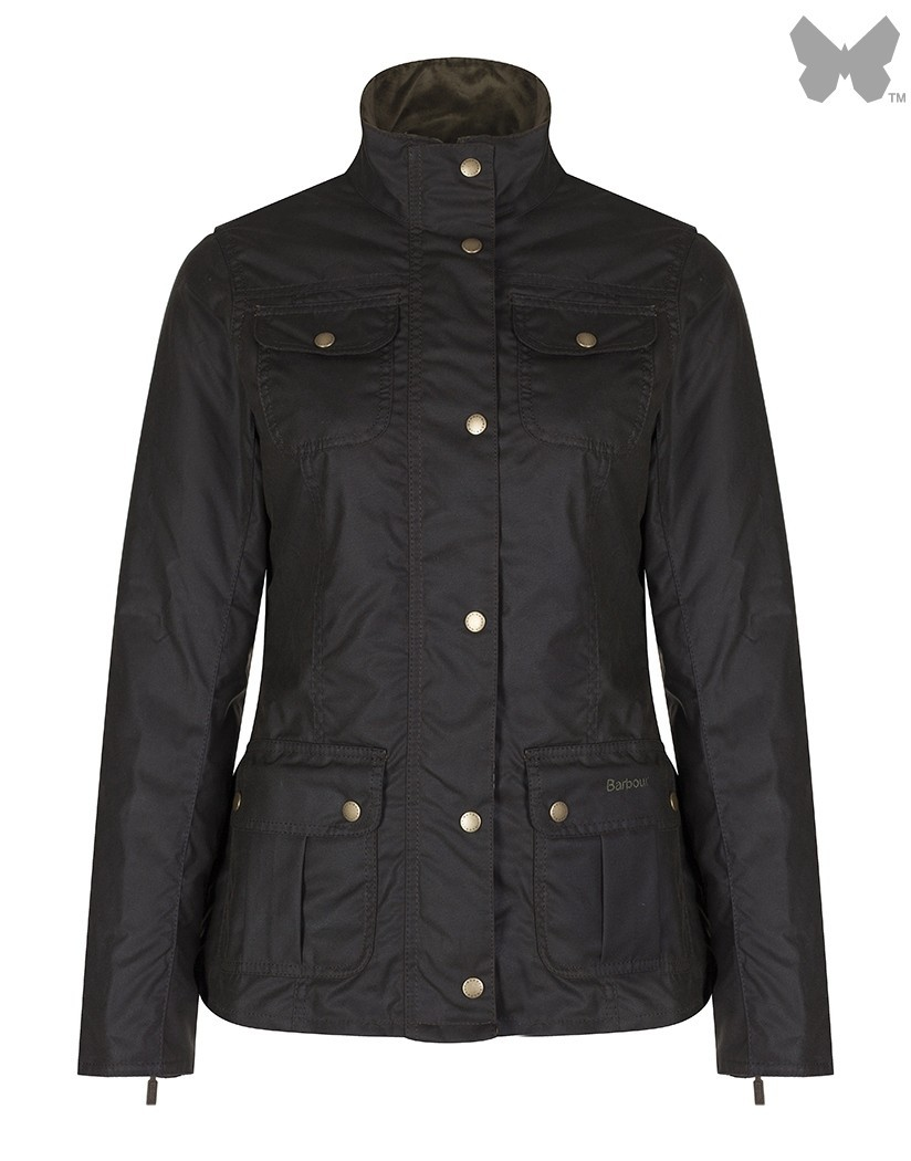 Barbour Olive Ruskin Wax Jacket